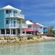 Staniel Cay Yacht Club. Exumas, Bahamas — Stock Photo