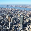 Aerial view of Manhattan, NYC - Foto de Stock