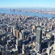 Aerial view of Manhattan, NYC - Foto Stock