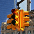 Traffic light. NYC — Stock Photo