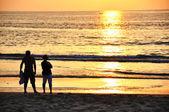 Ocean sunset — Стоковое фото