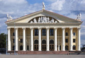 Palace of professional unions in Minsk. Belarus — Stock Photo