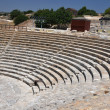 Kourion's Greco-Roman theatre. Cyprus — Stock Photo