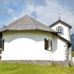 Little church in Tannalp, Switzerland — Stock Photo
