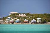 Staniel Cay Yacht Club. Exumas, Bahamas — Foto de Stock