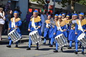 ZURICH - AUGUST 1: Traditional parade in Zurich on the Swiss National Day — Stock Photo