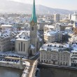 Winter view of Zurich — Stock Photo #33068111