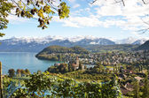 Spiez Castle, Switerland — Stock Photo