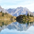 Stock Photo: Beautiful Alpine lake. Switzerland