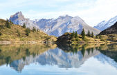 Beautiful Alpine lake. Switzerland — Stock Photo