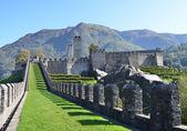 Oude forten in bellinzona, Zwitserland — Stockfoto