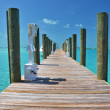 Stock Photo: Staniel Cay yacht club. Exumas, Bahamas