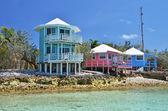 Staniel 岛游艇俱乐部。exumas 巴哈马 — 图库照片