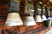 Swiss cowbells — Stock Photo