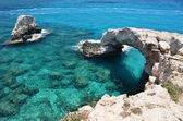 Rock arch. Ayia Napa, Cyprus — Stock Photo