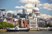 London from Waterloo Bridge — Stock Photo