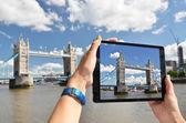 Tower bridge sur écran — Photo