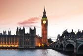 Londyn nocą — Zdjęcie stockowe