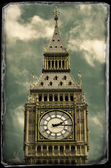 Vintage photo of Big Ben — Stock Photo