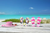 Beach scene — Stock Photo