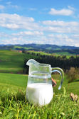 Jarra de leche — Foto de Stock