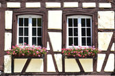 Traditional French houses — Stock Photo