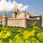 Chateau d'Aigle, Switzerland — Stock Photo #8300246