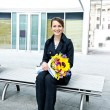 Business-Frau — Stockfoto