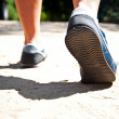 Walking or running legs — Stockfoto