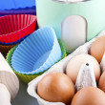Flour, eggs and sugar — Stock Photo #41050651