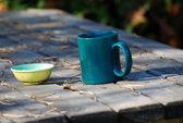 Tazza verde — Foto Stock