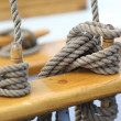 Ropes on a Vessel — Stock Photo