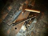 Tools of a Blacksmith — Stock Photo