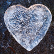 Heart of Ice — Stock Photo
