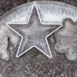 Stock Photo: Ice Stars
