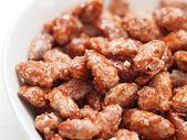 Pollo fritto con ingrediente piccante peperoncino nero — Stock fotografie