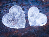 Hearts of Ice — Stock Photo