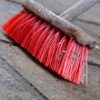 Stock Photo: Old Broom