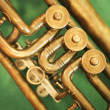 Stock Photo: Trumpet Detail