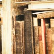 Stok fotoğraf: Old Books on a Shelf