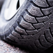 Stock Photo: Snow Tire