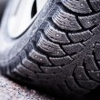 Snow Tire — Stock Photo