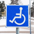 Stock Photo: Disability Sign
