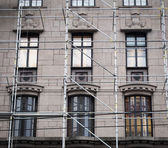 Restoration of a building — Stockfoto