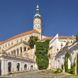 Stock Photo: Mikulov Castle, Southern Moravia, Czech Republic