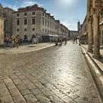Street in the old town Dubrovnik, Croatia — Stock Photo #28318549