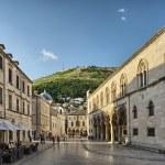 Street in the old town Dubrovnik, Croatia — Stock Photo #28319347