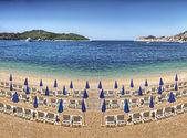 Beach at Dubrovnik - Croatia — Stock Photo