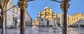 The Church of St. Blaise in Dubrovnik, Croatia — Stock Photo