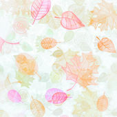 Colored autumn leaves - background — Stock Photo